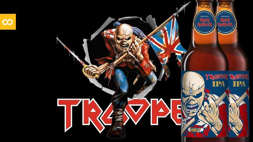 Iron Maiden lanza una nueva Trooper IPA - Loopulo