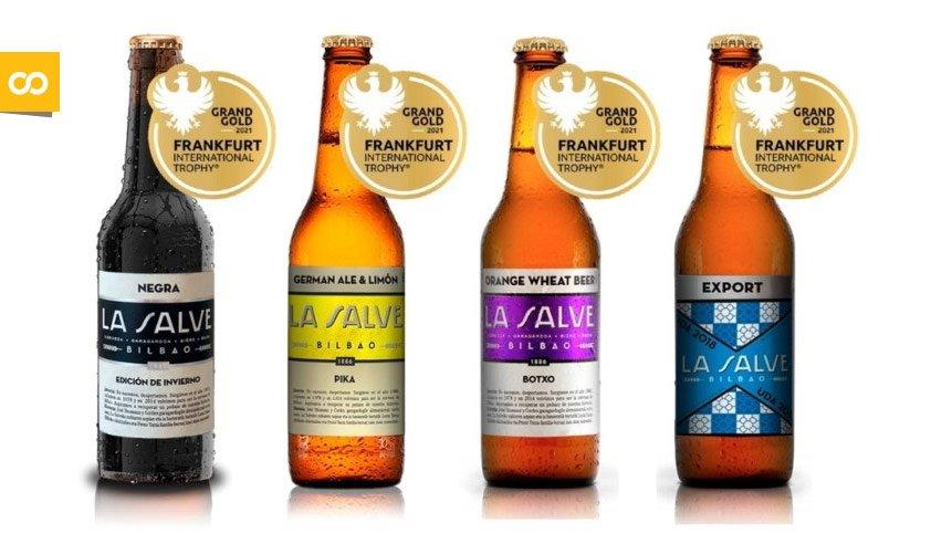 La Salve premios Frankfurt Beer Trophy – Loopulo