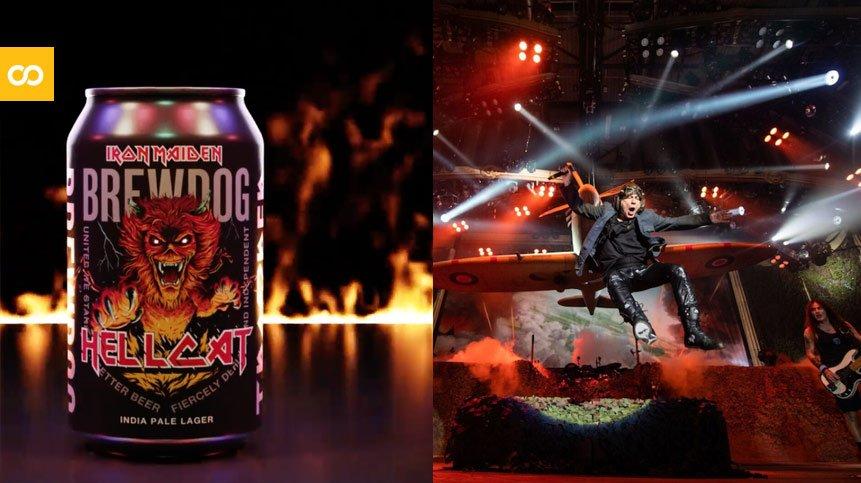 Iron Maiden y BrewDog presentan la India Pale Lager Hellcat   Loopulo