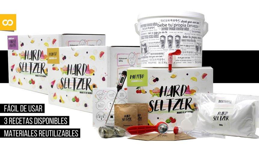 Cervezanía, Kits de elaboración de Hard Seltzer - Loopulo