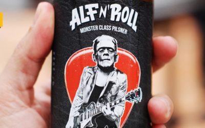 ALF 'N' ROLL Monster Class Pilsner, la cerveza del guitarrista de Barricada