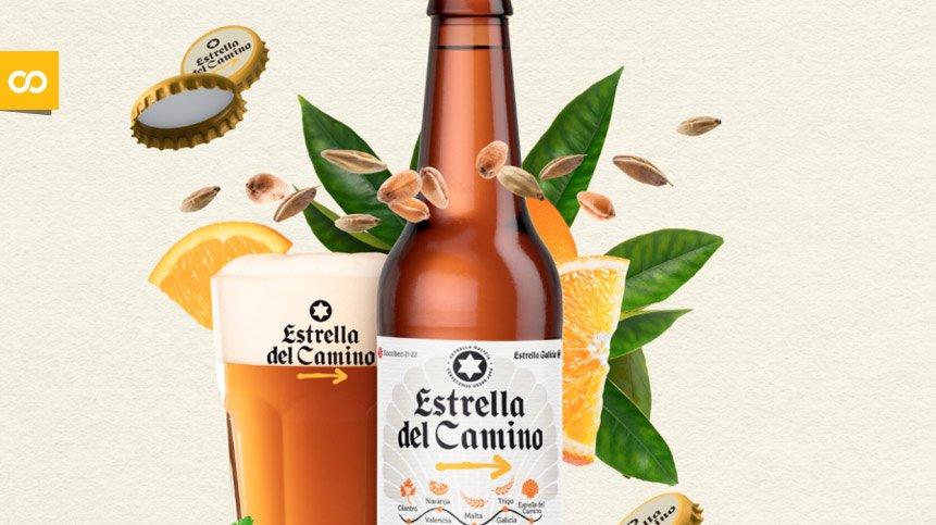 Estrella del Camino, la cerveza homenaje de Estrella Galicia al Camino de Santiago - Loopulo