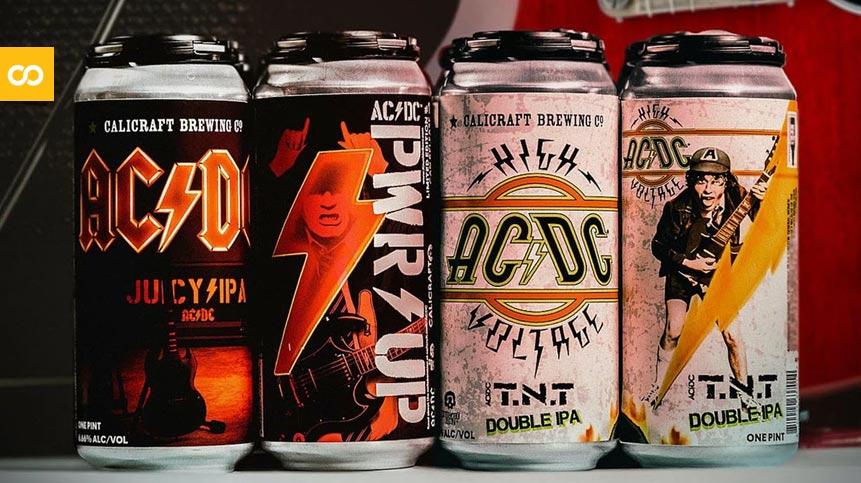 PWR UP y TNT las nuevas cervezas de ACDC - Loopulo