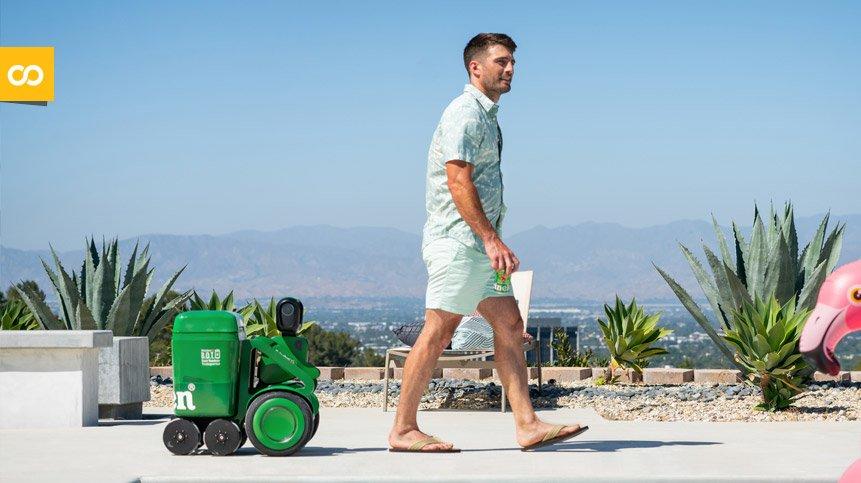 Heineken BOT, el robot que te sigue a donde vayas con cervezas – Loopulo