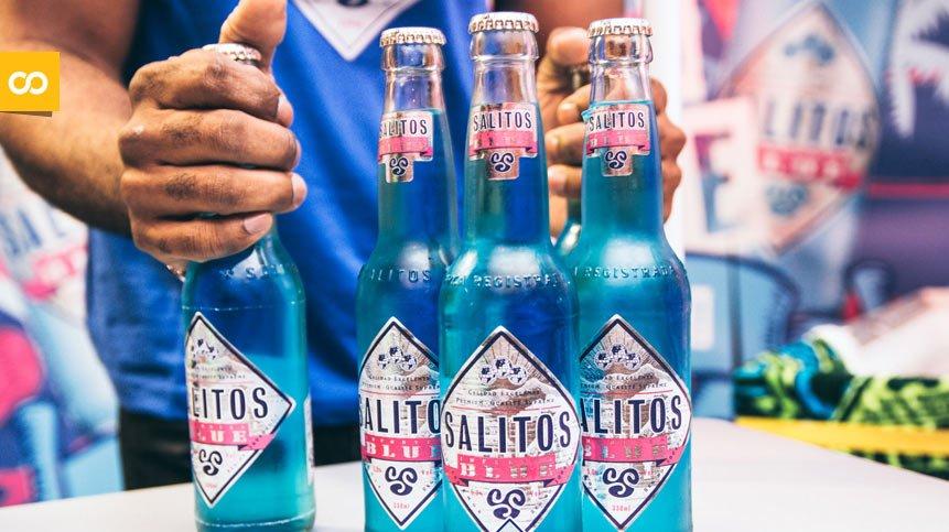 Salitos Blue, la cerveza azul que lo peta entre los jóvenes – Loopulo