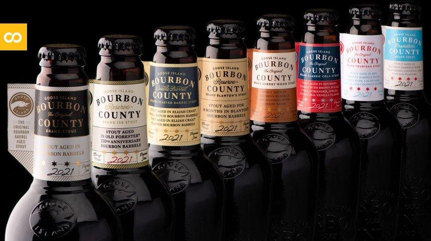 Goose Island Bourbon County Stout 2021, ya están aquí las nuevas cervezas de barrica de la marca - Loopulo