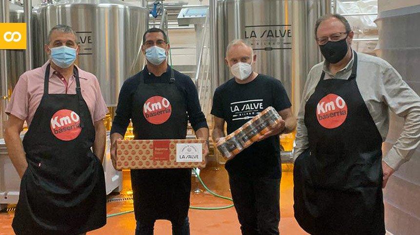LA SALVE y Baserria KM0, juntos por el consumo de productos locales - Loopulo
