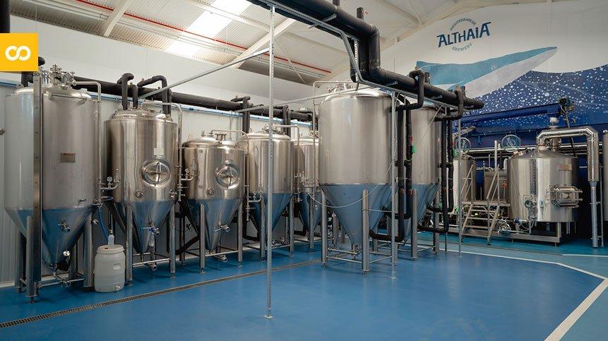Nueva fábrica de Cervezas Althaia - Loopulo