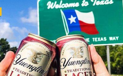 Yuengling llega a Texas, el estado de la estrella solitaria