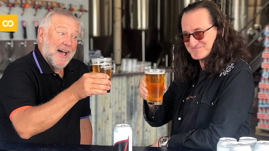 La banda Rush lanza hoy su craft beer Rush Canadian Golden Ale - Loopulo