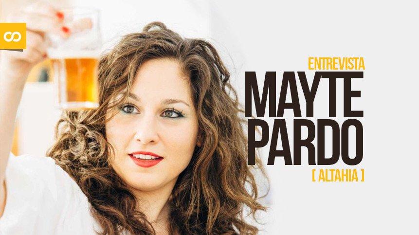 Entrevista Mayte Pardo, cervezas Althaia - Loopulo