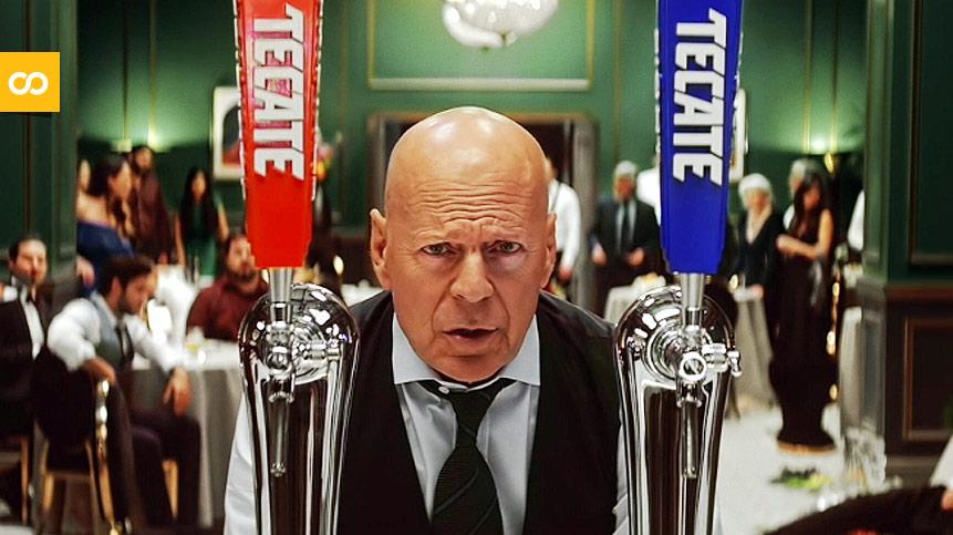 Bruce Willis repite campaña con Tecate y Rock The Agency - Loopulo