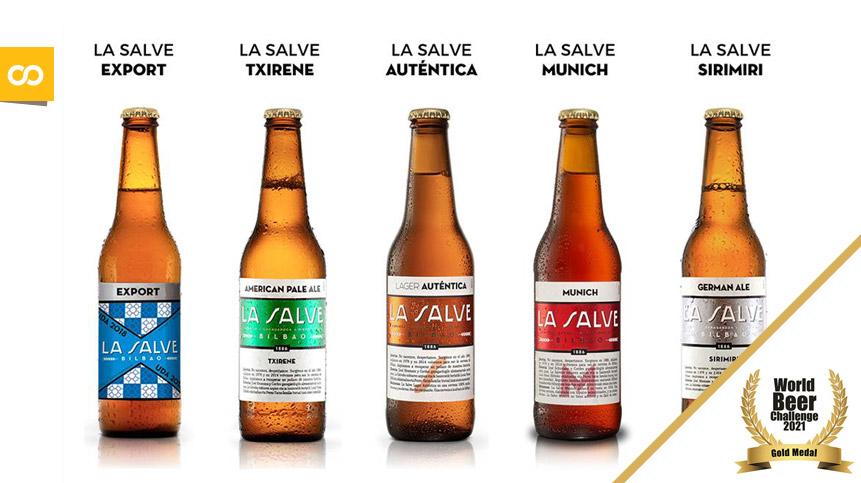 Euskadi se convierte en la tercera región cervecera del mundo tras los premios conseguidos por LA SALVE en World Beer Challenge 2021 - Loopulo