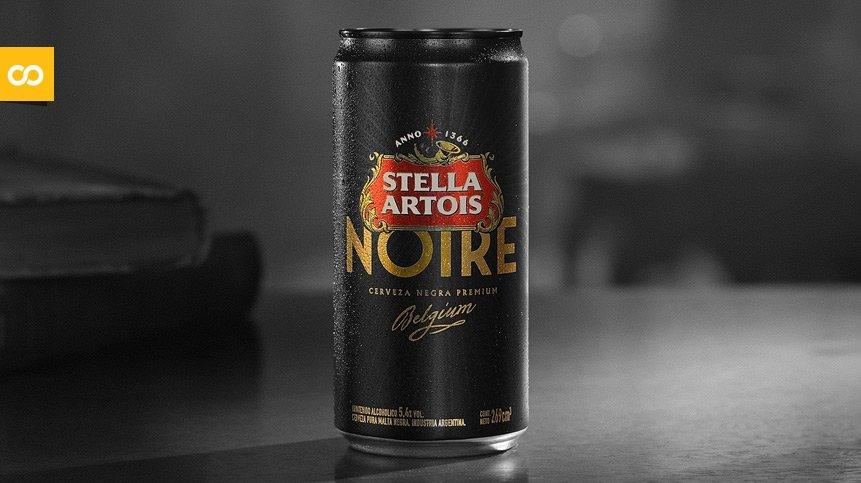 Stella Artois presenta la lata Noire de 269 ml - Loopulo