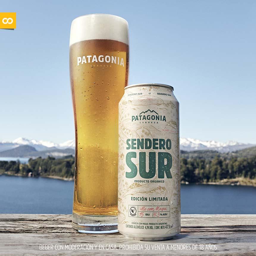 Sendero Sur, la cerveza orgánica de Cerveza Patagonia vuelve para quedarse – Loopulo