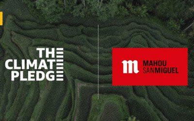 Mahou San Miguel se adhiere a The Climate Pledge en su compromiso de ser carbon neutral en 2040