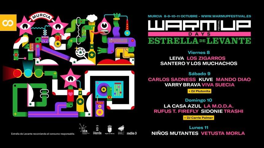 WARM UP Days Estrella de Levante celebrará su nueva edición del 8 al 11 de octubre – Loopulo