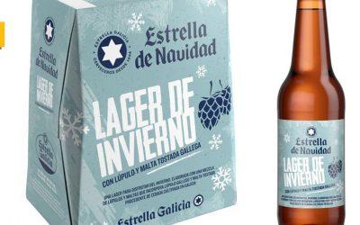 Lager de Invierno: Estrella Galicia lanza su nueva cerveza de Navidad
